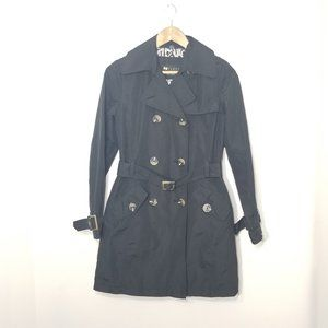 Nygard Black Label Double Breasted Trench Coat